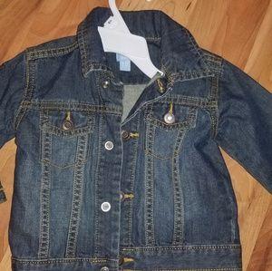 TCP Jean Denim baby boy jacket toddler coat